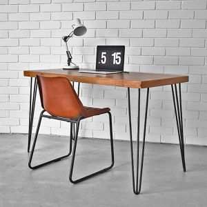 Table With Hairpin Legs | Black