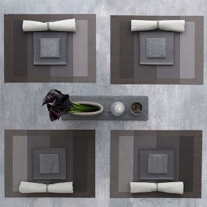 Tablemat Tempo Slate | Chilewich