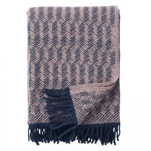 Tage Wool Blanket | Lilac