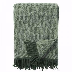 Tage Wool Blanket | Tea Green