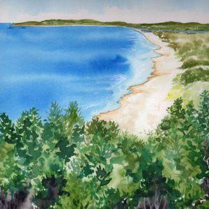 Tallows Beach | Original Watercolour Artwork