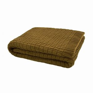 Tanami Throw | Tobacco