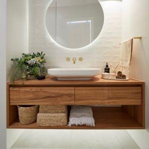 Tanami Vanity | White Mahogany