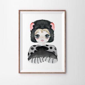 Tassie Devil Art Print   Various Sizes