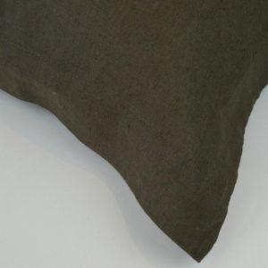 Taupe Stonewash Linen Pillowcases