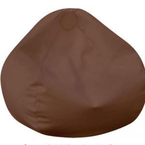 Tear Drop Bean Bag | By Bliss Bean Bags | Chocolate