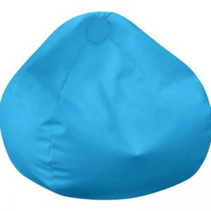Tear Drop Bean Bag | By Bliss Bean Bags |Sky Blue