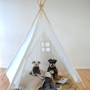 Teepee Natural Cotton Play Tent | Medium