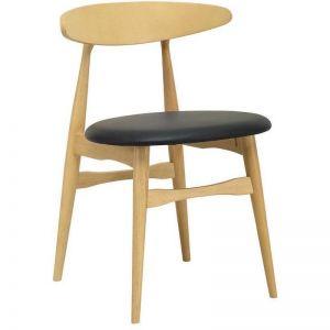 Telyn Dining Chair | Oak + Espresso | Modern Furniture