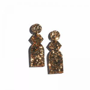 Temple Earrings | Bronze by Martha Jean