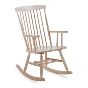 Terence Natural Timber Rocking Chair