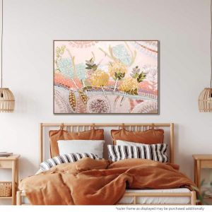 Terra And Flora 2 | Painting with Natural Floating Frame