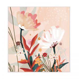 Terra Jasmine | White Box Frame | Front View