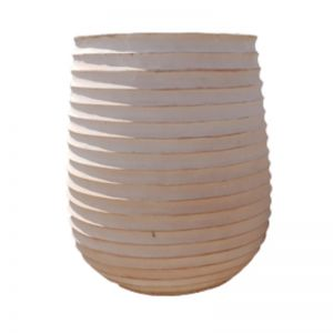 Terracotta Belly Band Garden Pot