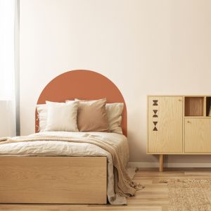 Terracotta | Reusable Decal Headboard
