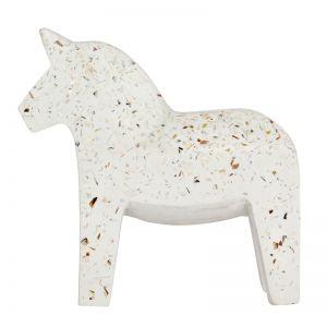 Terrazzo Dala Horse | Seashell | By Zakkia