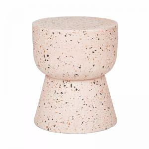 Terrazzo Hourglass Stump | Soft Pink | Fenton & Fenton