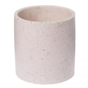 Terrazzo Pot | Black, Rose or Snow | By Zakkia