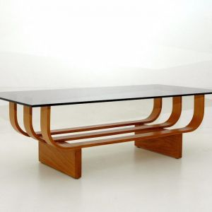 TH Brown Aquarius Coffee Table | Teak