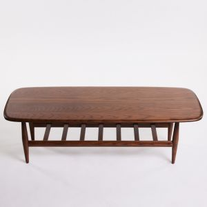 TH Brown Frisco Coffee Table | Dark Ash
