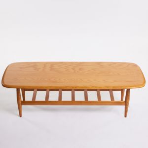TH Brown Frisco Coffee Table | Light Ash