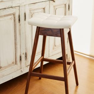 TH Brown Martelle Bar Stool-Dark Ash