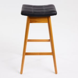 TH Brown Martelle Stool | Light Ash | Various Seat Colours