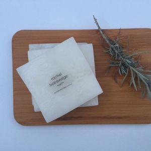 The AKOYA Collection - Handmade Square Coasters | Rachel Bainbridge