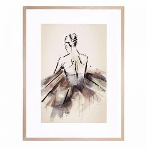 The Ballerina | Framed Print by United Interiors & Alisa and Lysandra