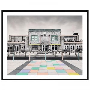 The Baths | Framed Print | P7023 | Colour Clash Studio