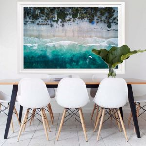 The Beach   Framed Art
