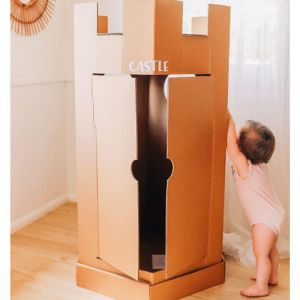 The Castle Cubby | The Cardboard Cubby Co