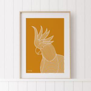 The Cockatoo | Original Artwork by Kurt Hardy