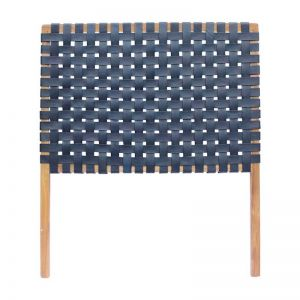 The Fern Headboard | Midnight Navy | Single | by Coco Unika