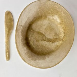 The Gold Collection | Resin Homewares | Large Bowl