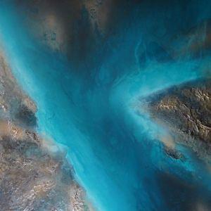 The Lagoon by Petra Meikle De Vlas | Original Artwork | Art Lovers Australia