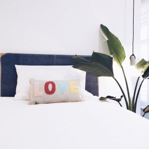The Leather Bedhead | Single Navy