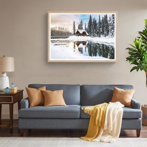 The Lodge   Framed Photographic Art Print by Sharyn Coffee