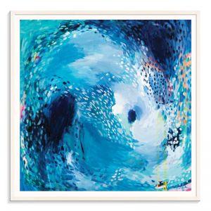 The Moon Pulls the Tide | Amira Rahim | Framed Art Print | SALE