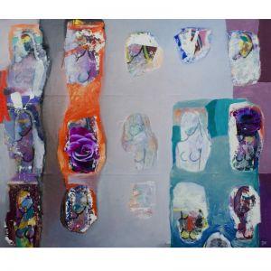 The Quilt of Her Existence by Damien Venditti   Original Artwork   Art Lovers Australia