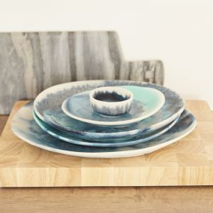 The SAND + SEA collection | Resin Homewares | Small Bown in SEA