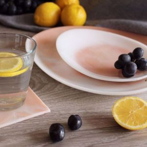 The SAND + SEA collection   Resin Homewares   Small Platter in SAND