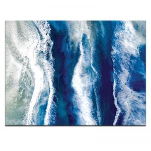 The Sea is Blue | Martine Vanderspuy | Canvas or Print by Artist Lane