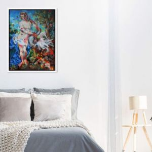 The Seduction of Leda by Kathryn Fenton | Ltd Edition Canvas Print | Art Lovers Australia