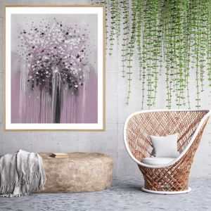 The Star | Framed Print | P1021-1A DUSTY PINK | Colour Clash Studio