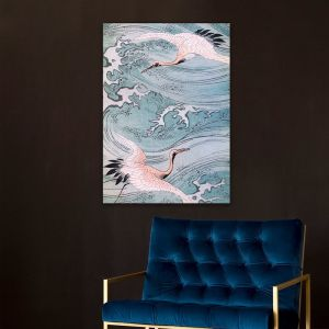 The Storks Lithograph | Stretched Canvas | Printed Panel