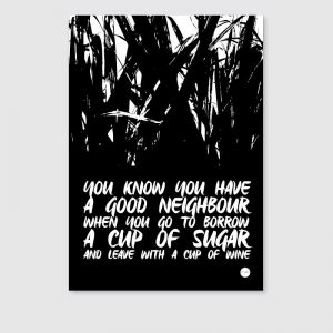The Sugarcane Print | Unframed Print