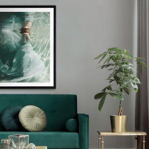 The Underwater Ball   Framed Art Print