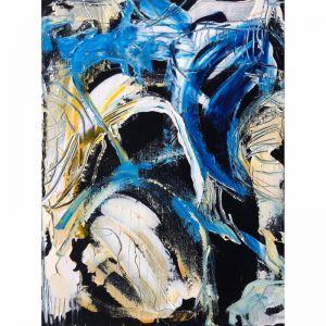 The View | Black no.1 | Original Artwork by Peter Daavid