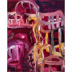The View | Pink & Red No.1 | By Peter Daavid